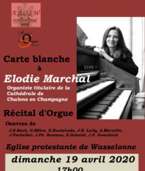 CARTE BLANCHE A ELODIE MARCHAL